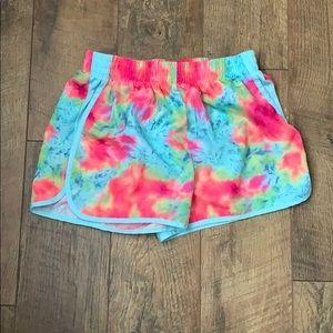 Tie die shorts